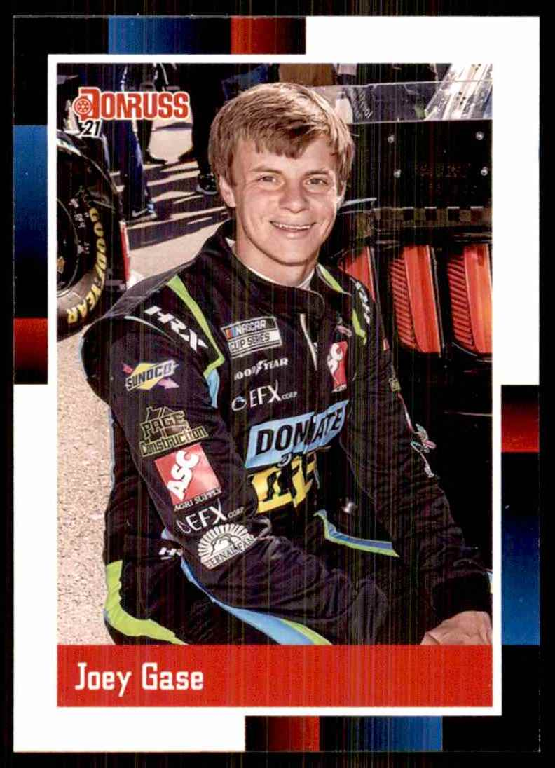 2021 Donruss Joey Gase Retro #186 card front image