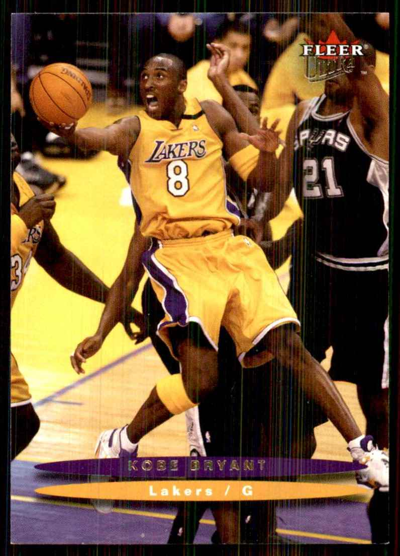 2003-04 Ultra Kobe Bryant #133 card front image