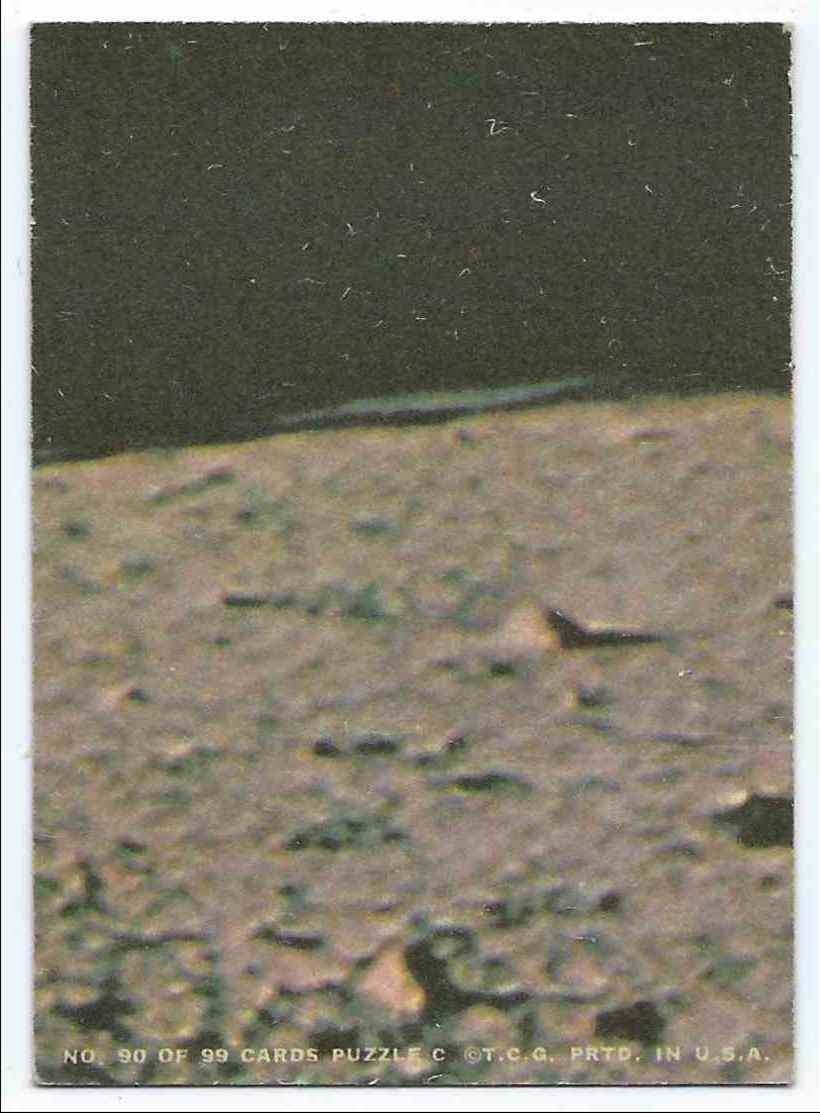 1969 Topps Man On The Moon Ignition! #90 card back image