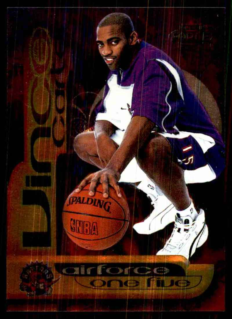 1999-00 Fleer Force Air Force One Five Vince Carter #AF7 card front image