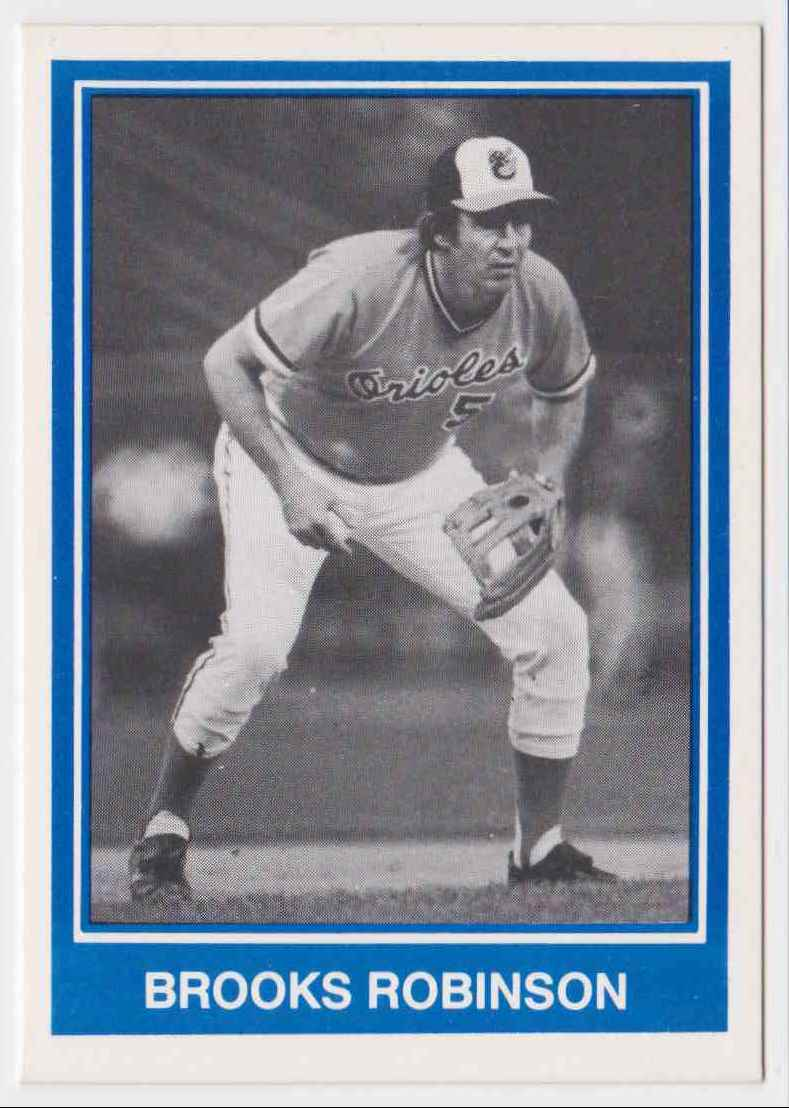 1984 TCMA All-Time All-Stars Team Brooks Robinson #NN card front image