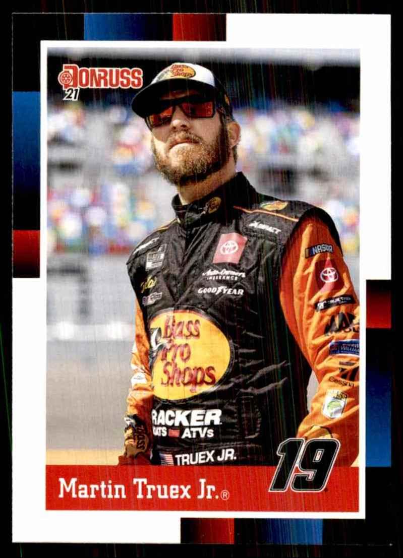 2021 Donruss Martin Truex JR. Retro #161 card front image
