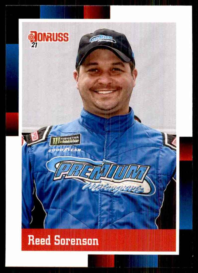 2021 Donruss Reed Sorenson Retro #155 card front image