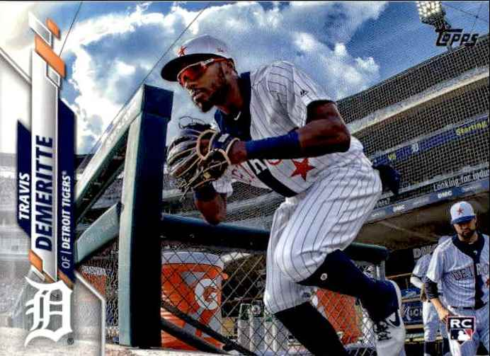 2020 Topps Series 1 Travis Demeritte #57 card front image