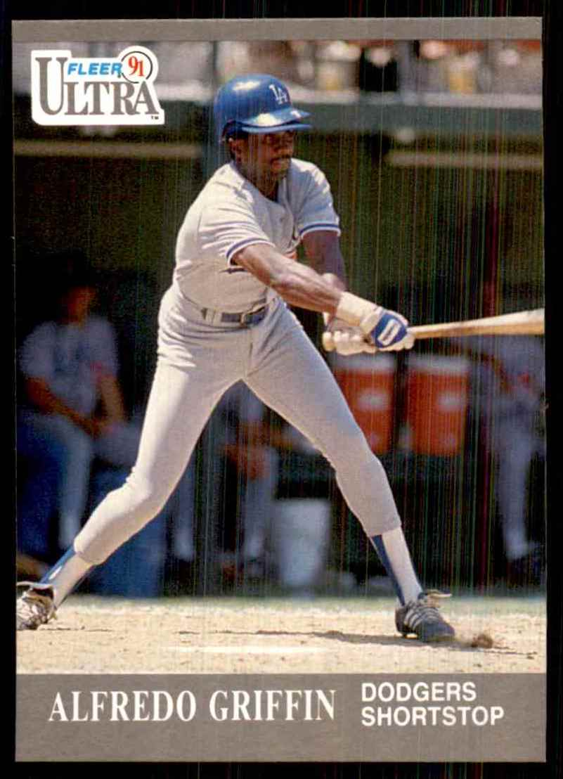 1991 Ultra Alfredo Griffin #161 card front image
