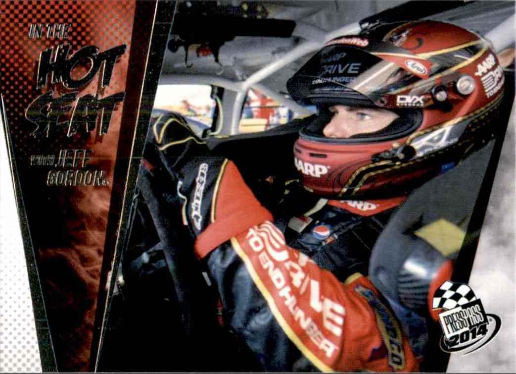 2014 Press Pass Jeff Gordon #82 card front image