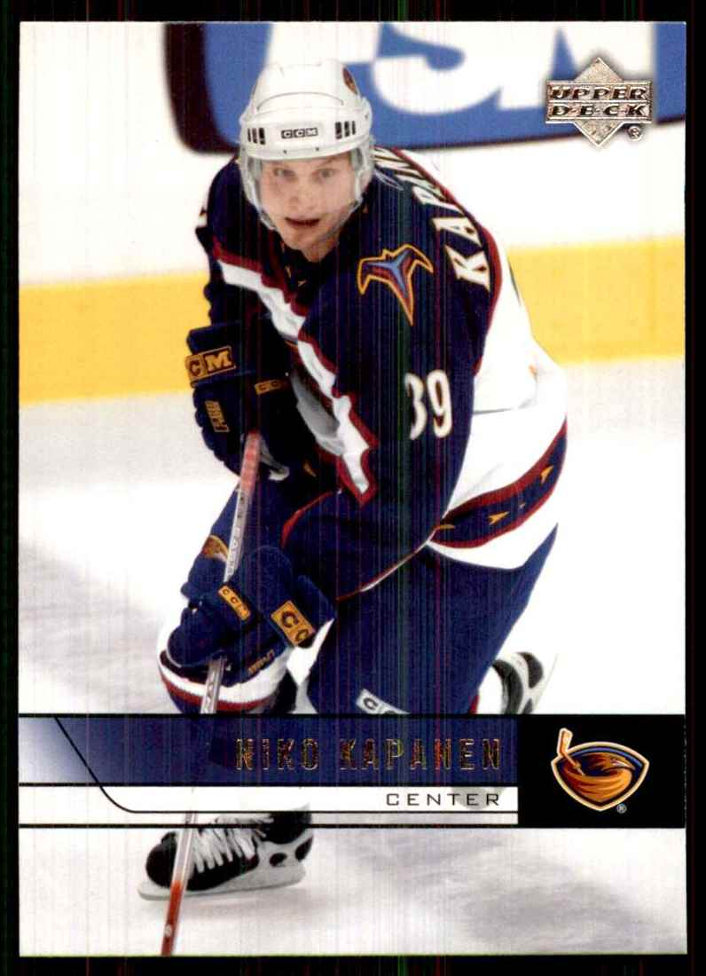 2006-07 Upper Deck Niko Kapanen #260 card front image