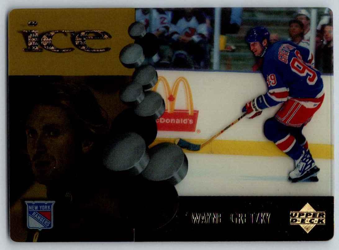 1998-99 Upper Deck McDonald's Wayne Gretzky #MCD1 card front image