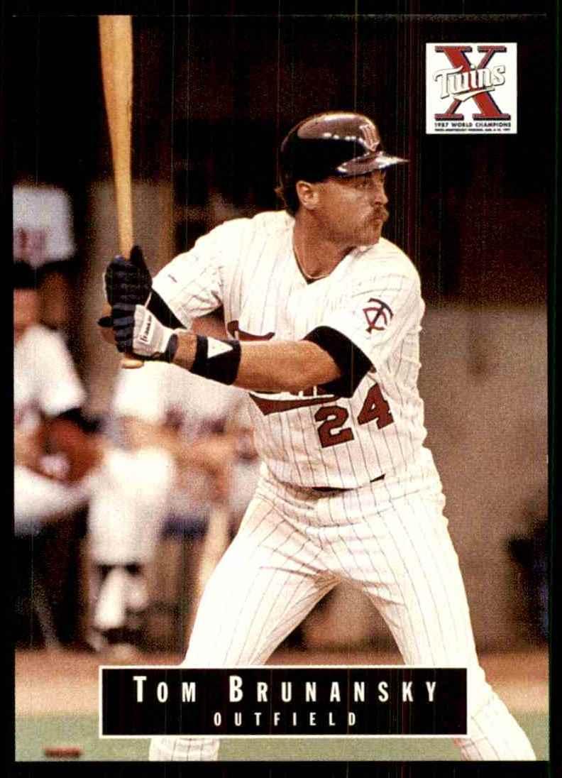 1988 Marquette Banks Tom Brunansky #24 card front image