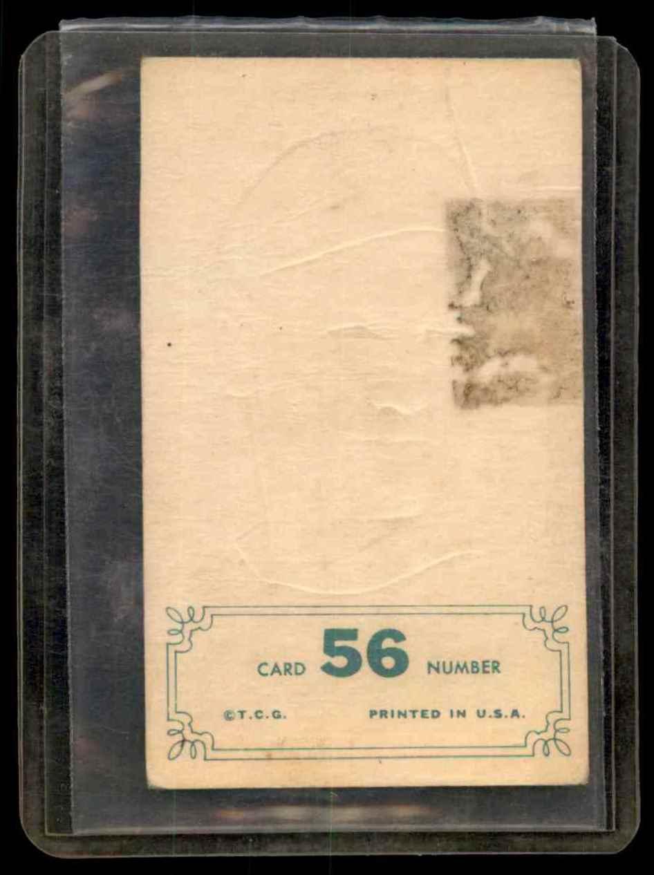 1965 Topps Embossed Harmon Killebrew #56 card back image