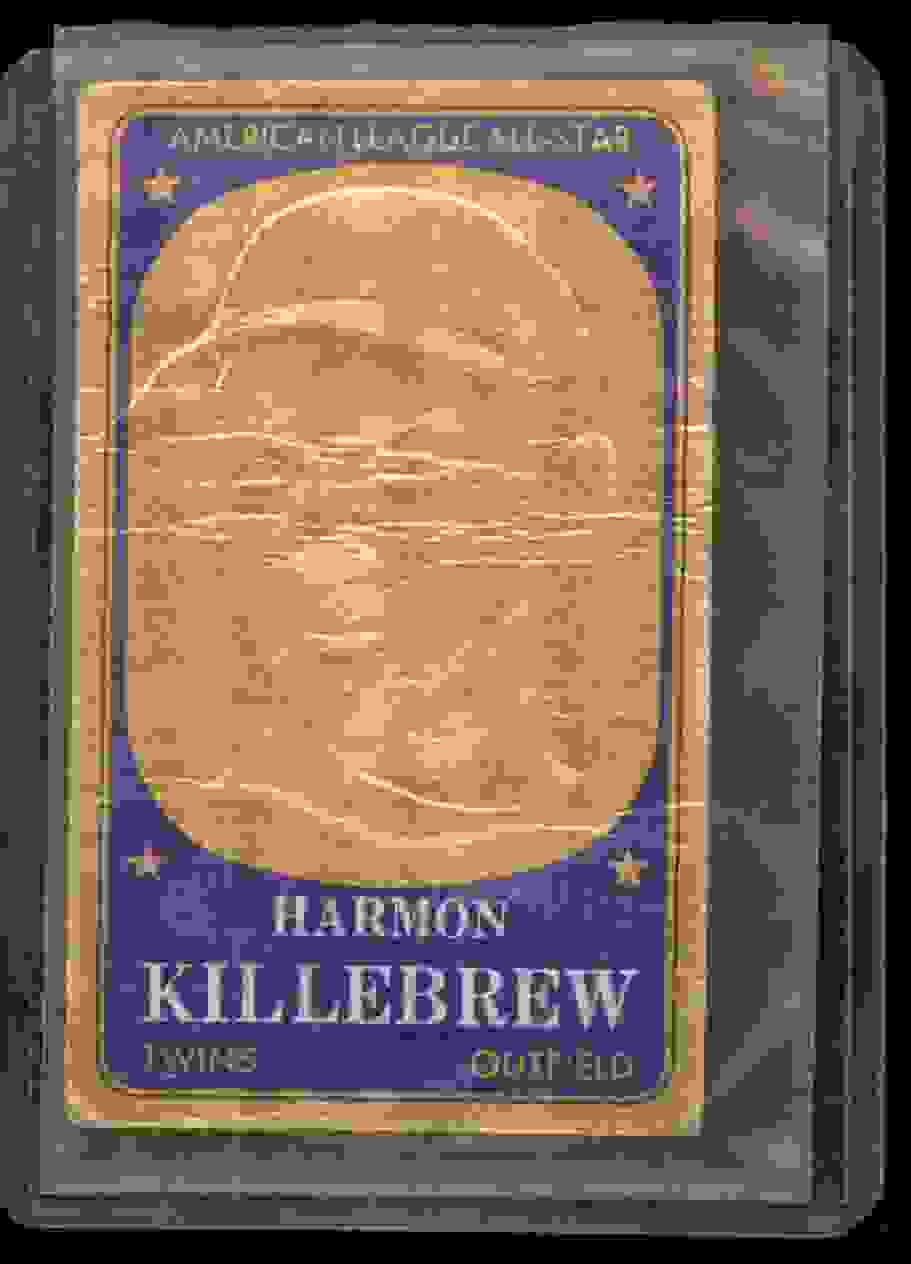 1965 Topps Embossed Harmon Killebrew #56 card front image