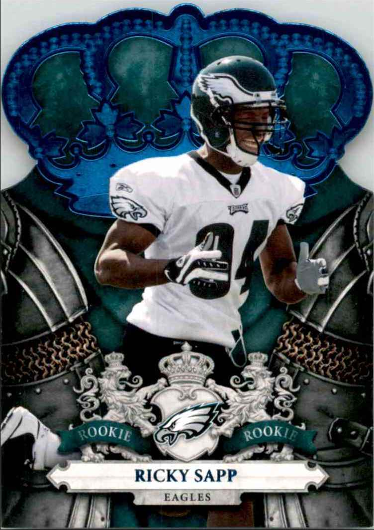 2010 Crown Royale Blue Ricky Sapp #179 card front image