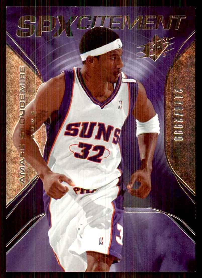 2006-07 Spx SPxcitement Amare Stoudemire #SPX80 card front image