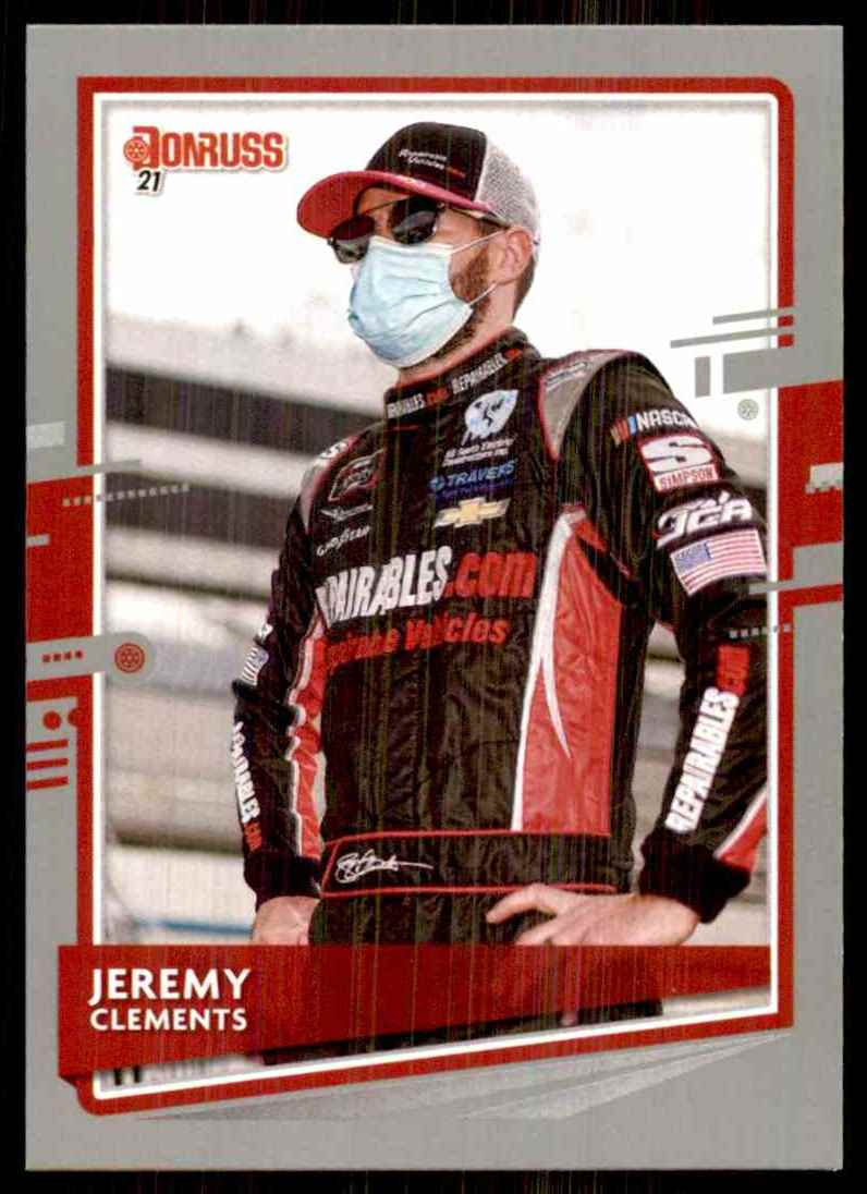 2021 Donruss Silver Jeremy Clements #89 card front image