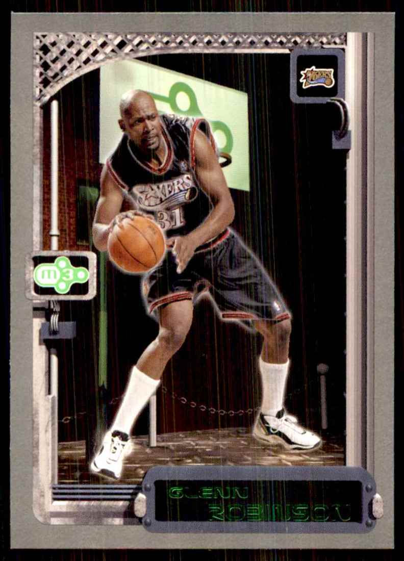 2003-04 Topps Rookie Matrix Glenn Robinson #31 card front image