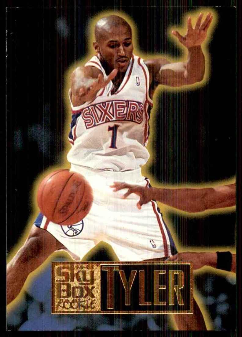 1994-95 Skybox Premium B.J. Tyler RC #267 card front image
