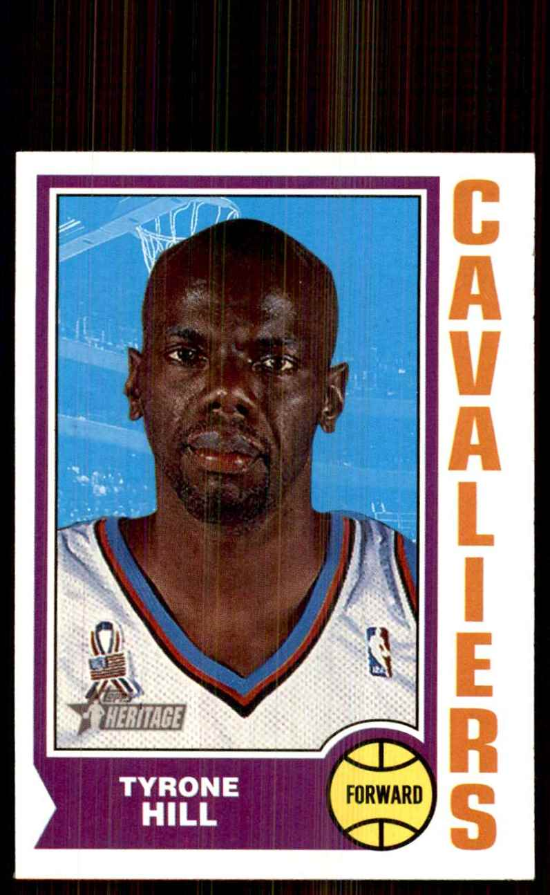 2001-02 Topps Heritage Tyrone Hill #31 card front image