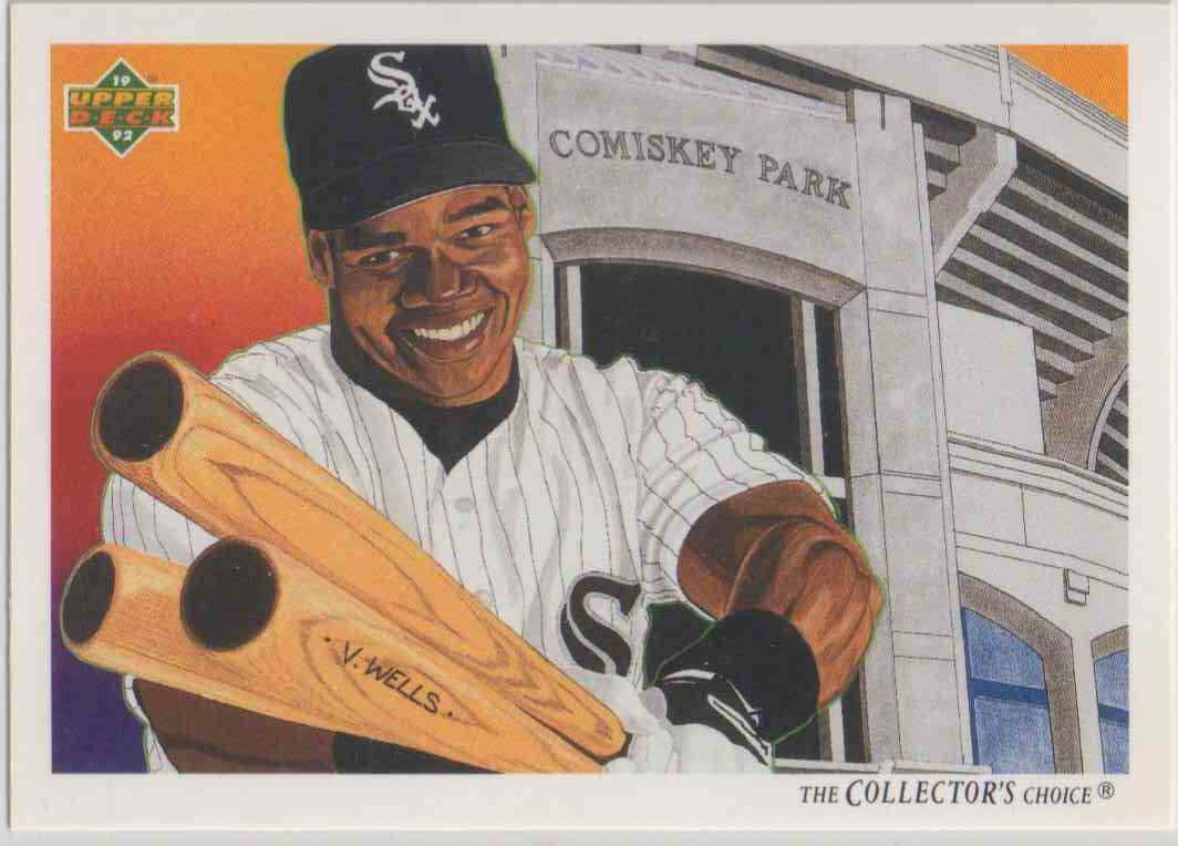 1992 Upper Deck The Collector39s Choice Frank Thomas 87