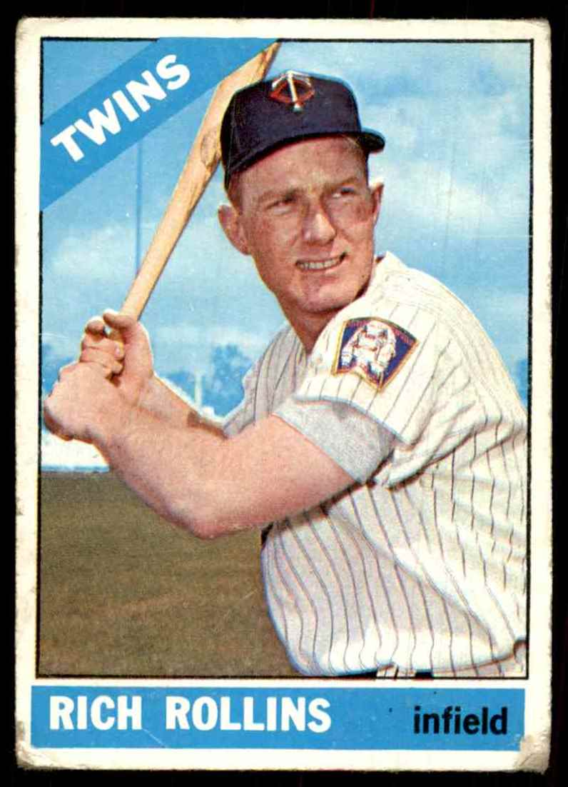 1966 Topps Rich Rollins #473 card front image