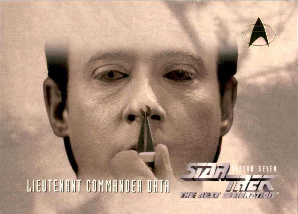1994 Star Trek The Next Generation Episode Collection Emotion Chip #739 card front image