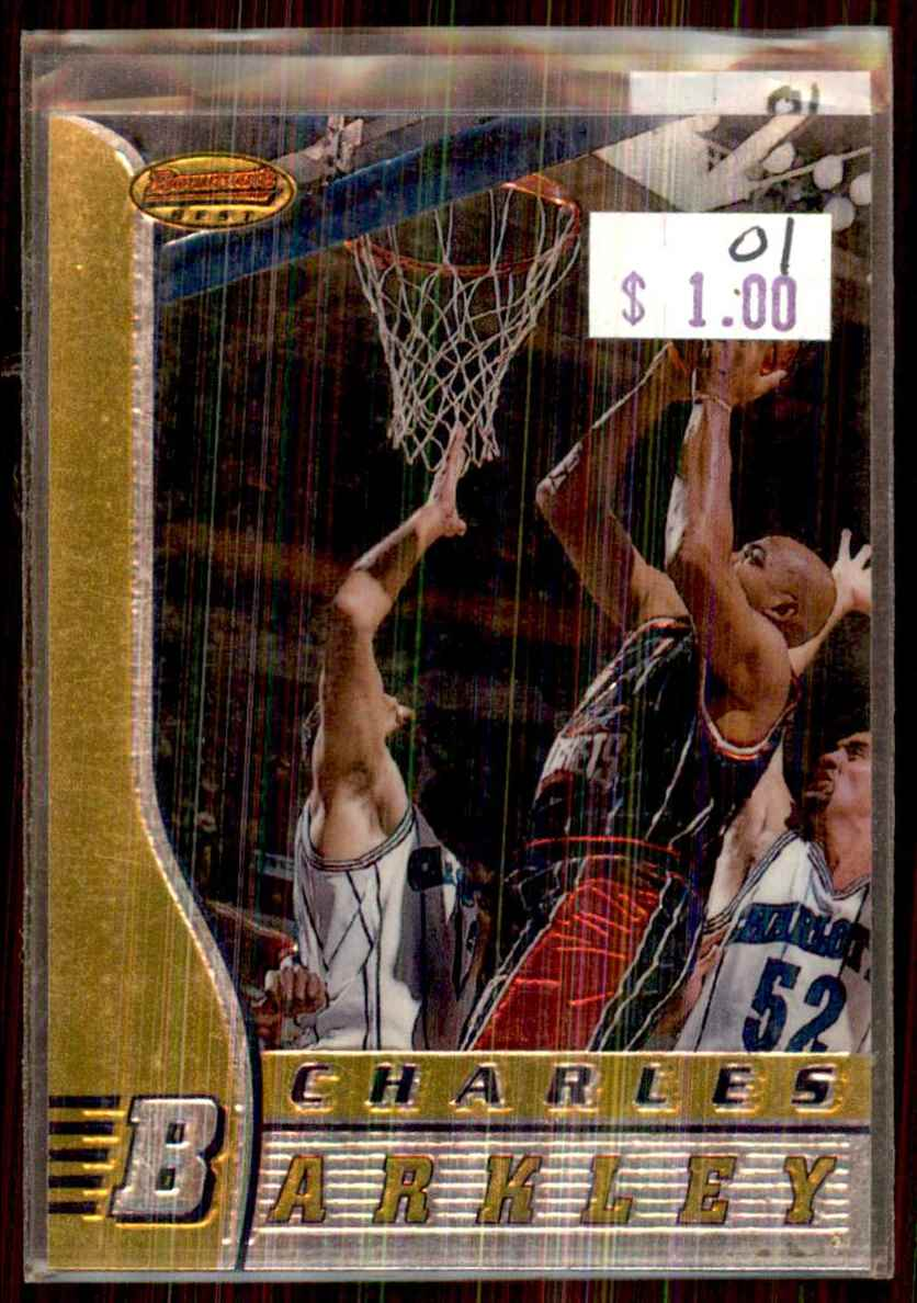 1996-97 Bowman's Best Charles Barkley #46 card front image
