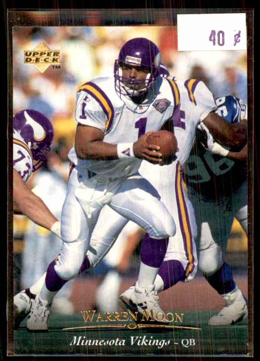 1995 Upper Deck Warren Moon #148 card front image