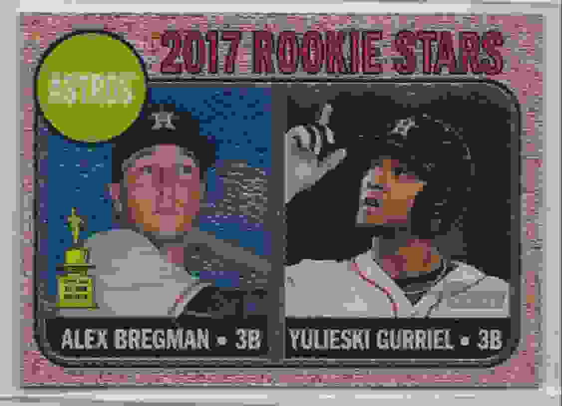 2017 Topps Heritage Chrome Alex Bregman #113 card front image
