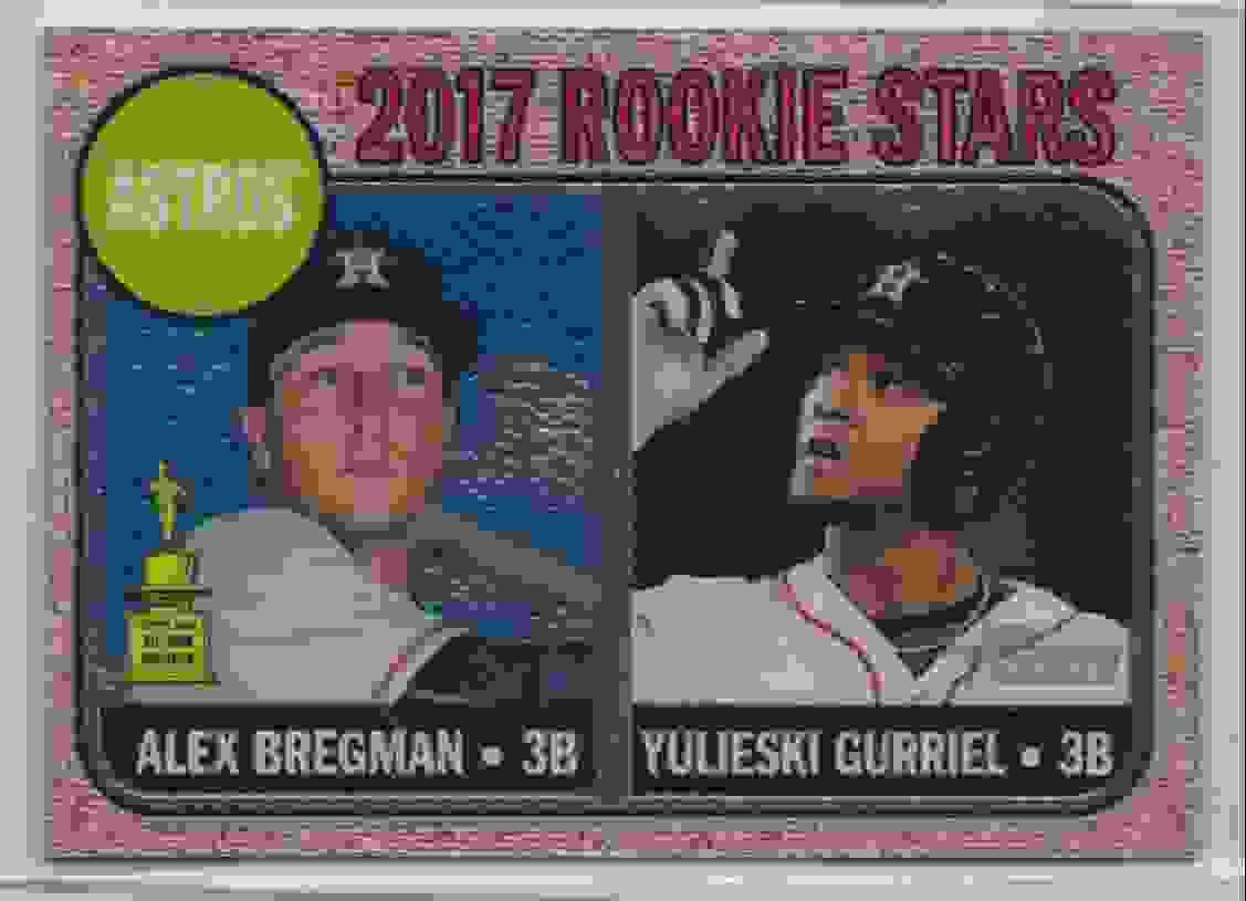 2017 Topps Heritage Chrome Alex Bregman #113 card front image