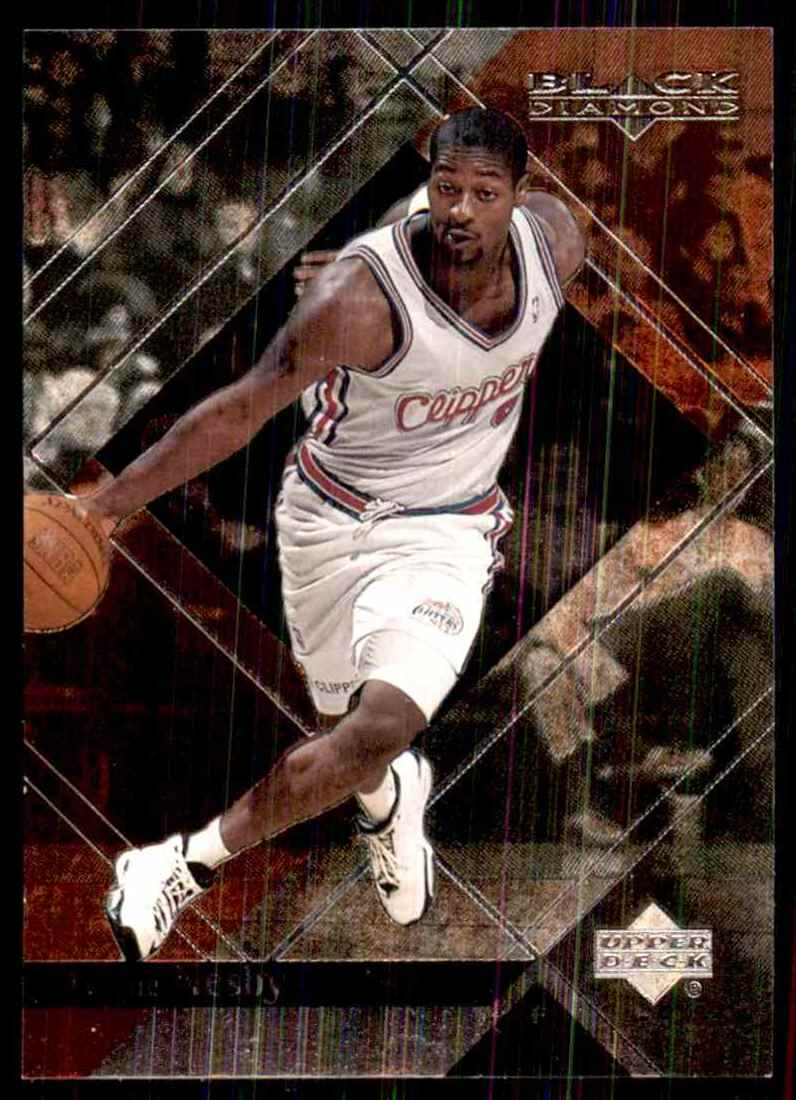 1999-00 Upper Deck Black Diamond Tyrone Nesby RC #35 card front image