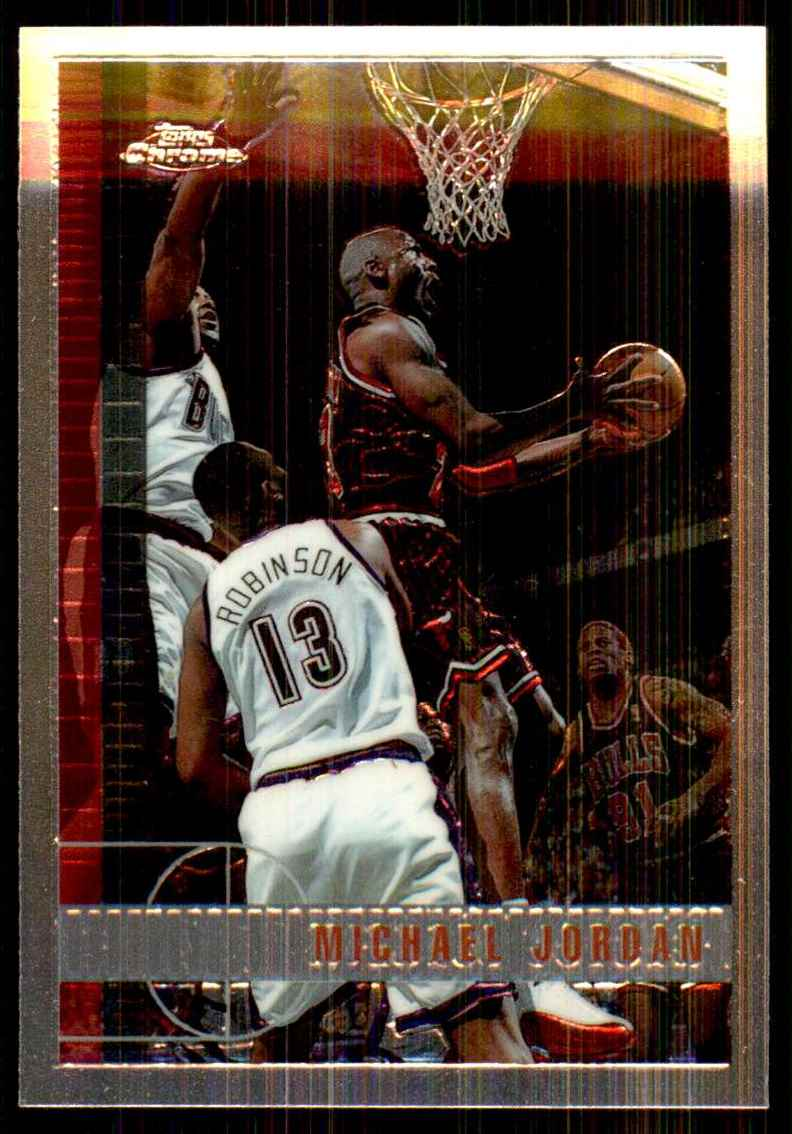 1997-98 Topps Chrome Michael Jordan #123 card front image