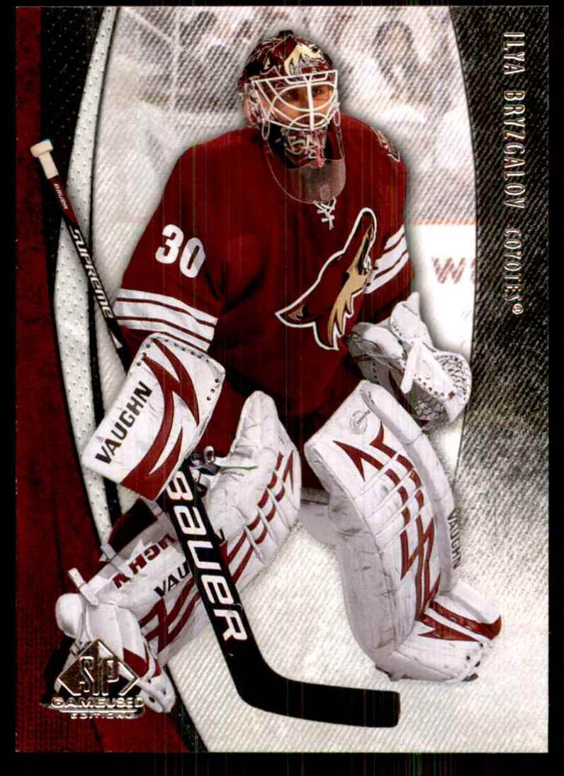 2010-11 SP Game Used Ilya Bryzgalov #76 card front image
