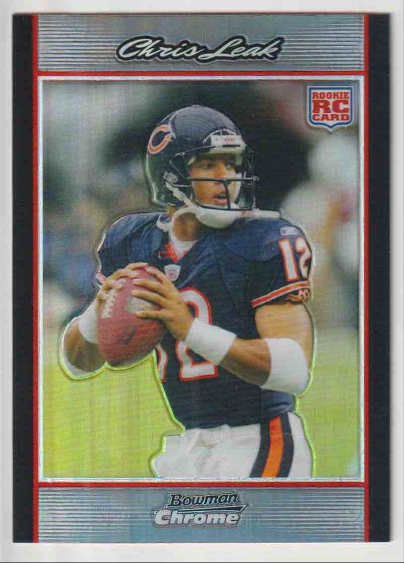 2007 Bowman Chrome Chris Leak #BC64 card front image