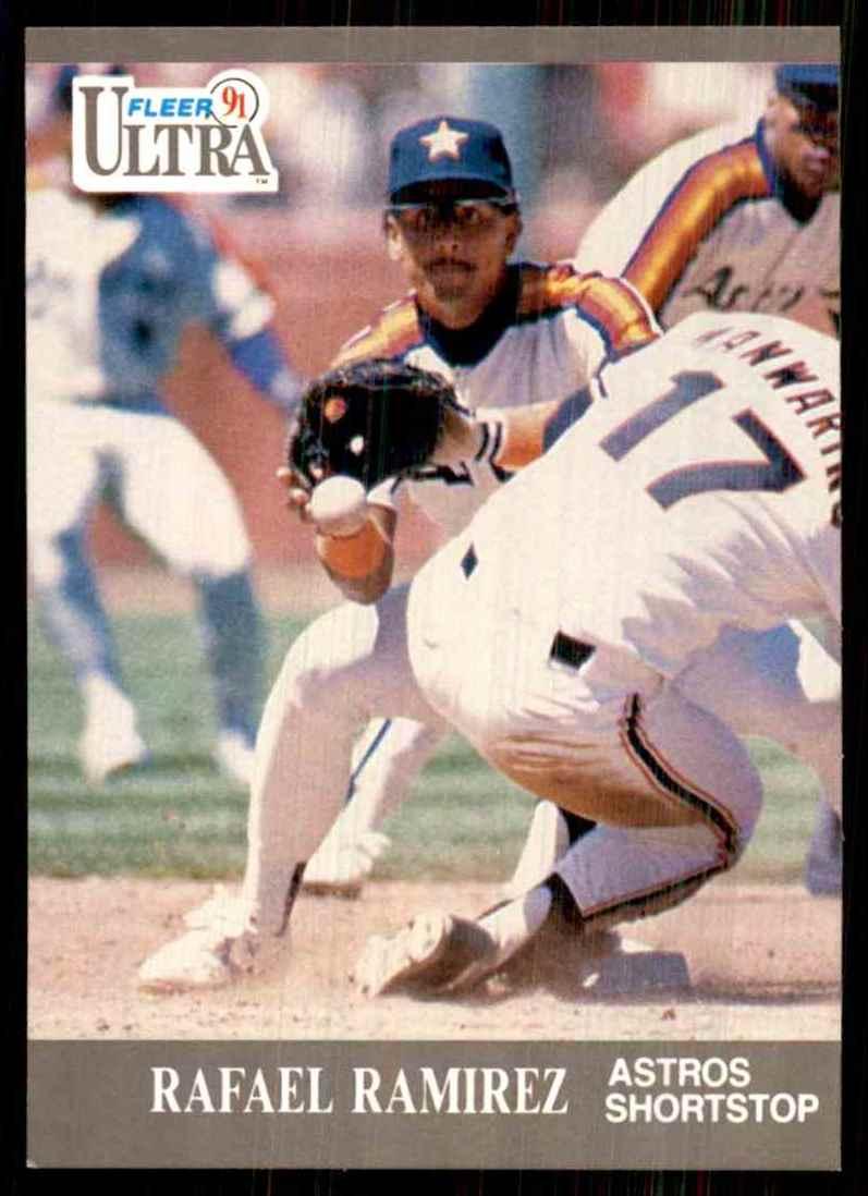 1991 Ultra Rafael Ramirez #139 card front image