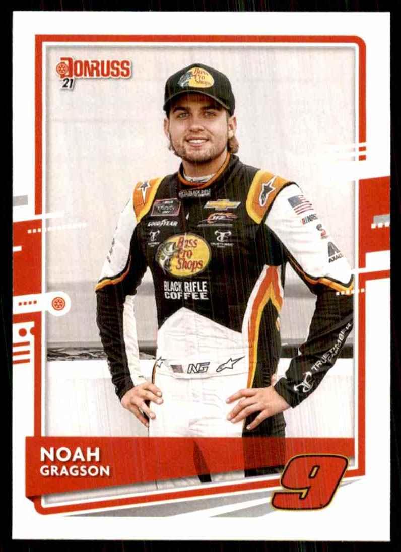 2021 Donruss Noah Gragson #97 card front image