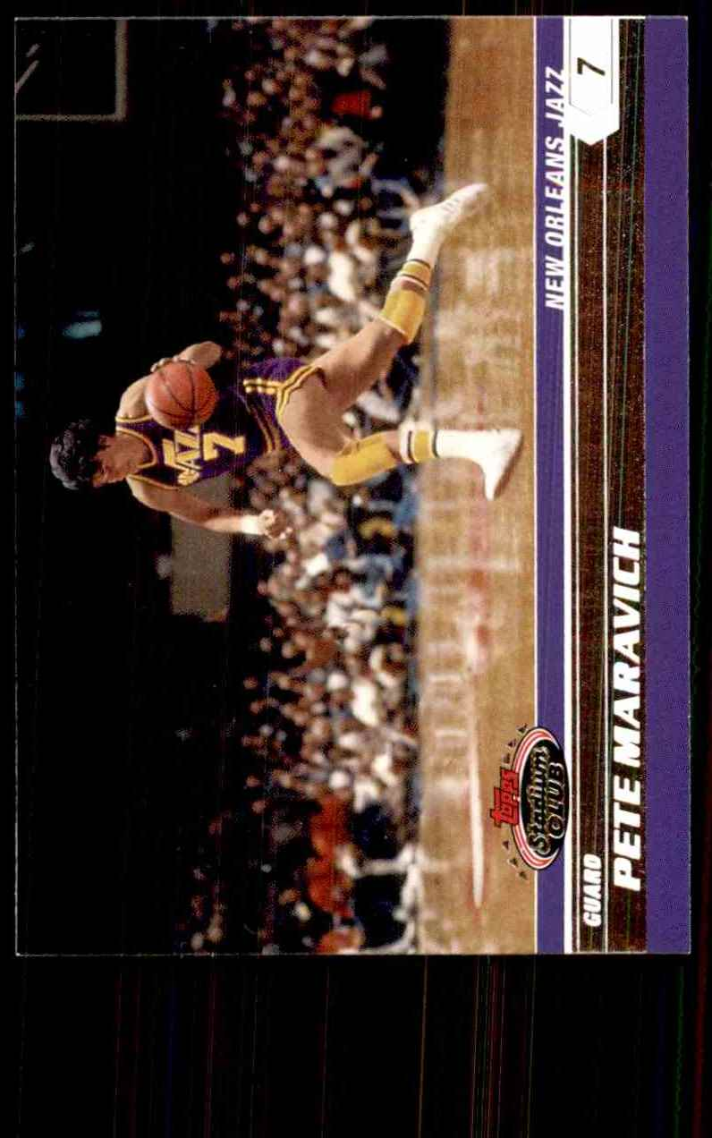2007-08 Stadium Club Pete Maravich #99 card front image