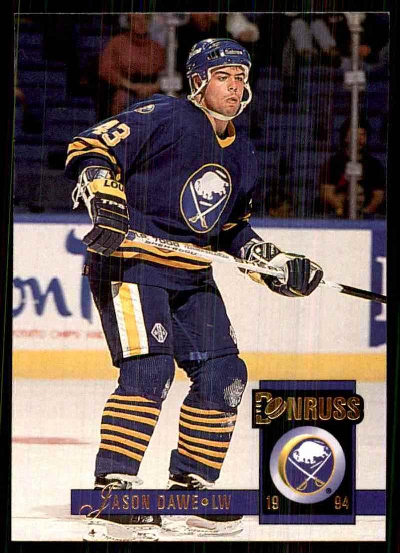 1993-94 Donruss Jason Dawe #404 card front image