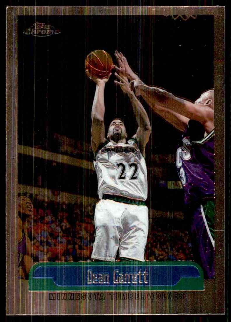 1999-00 Topps Chrome Dean Garrett #10 card front image