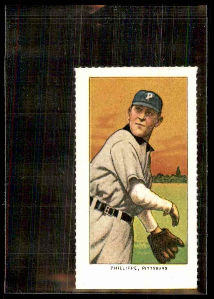 1911 T206 Reprint Deacon Phillippe #25 card front image
