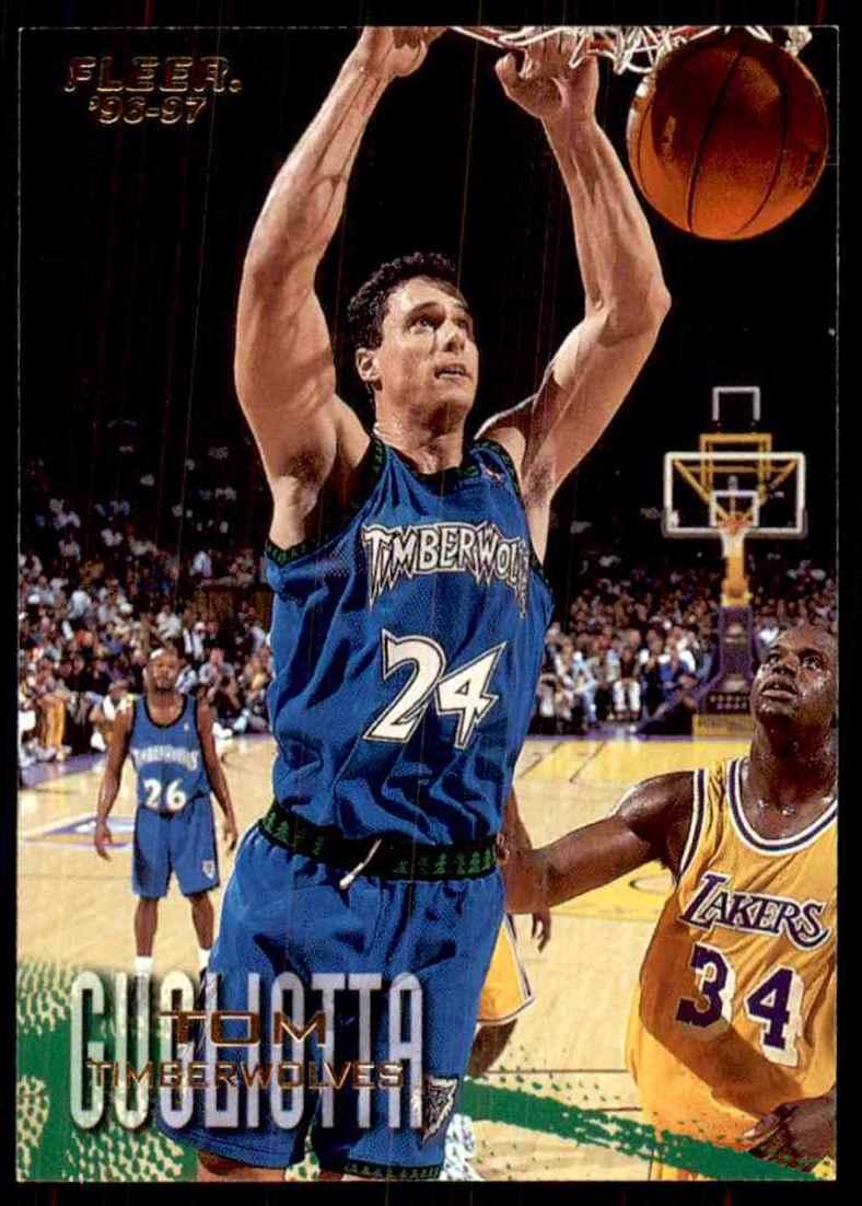 1996-97 Fleer Tom Gugliotta #217 card front image