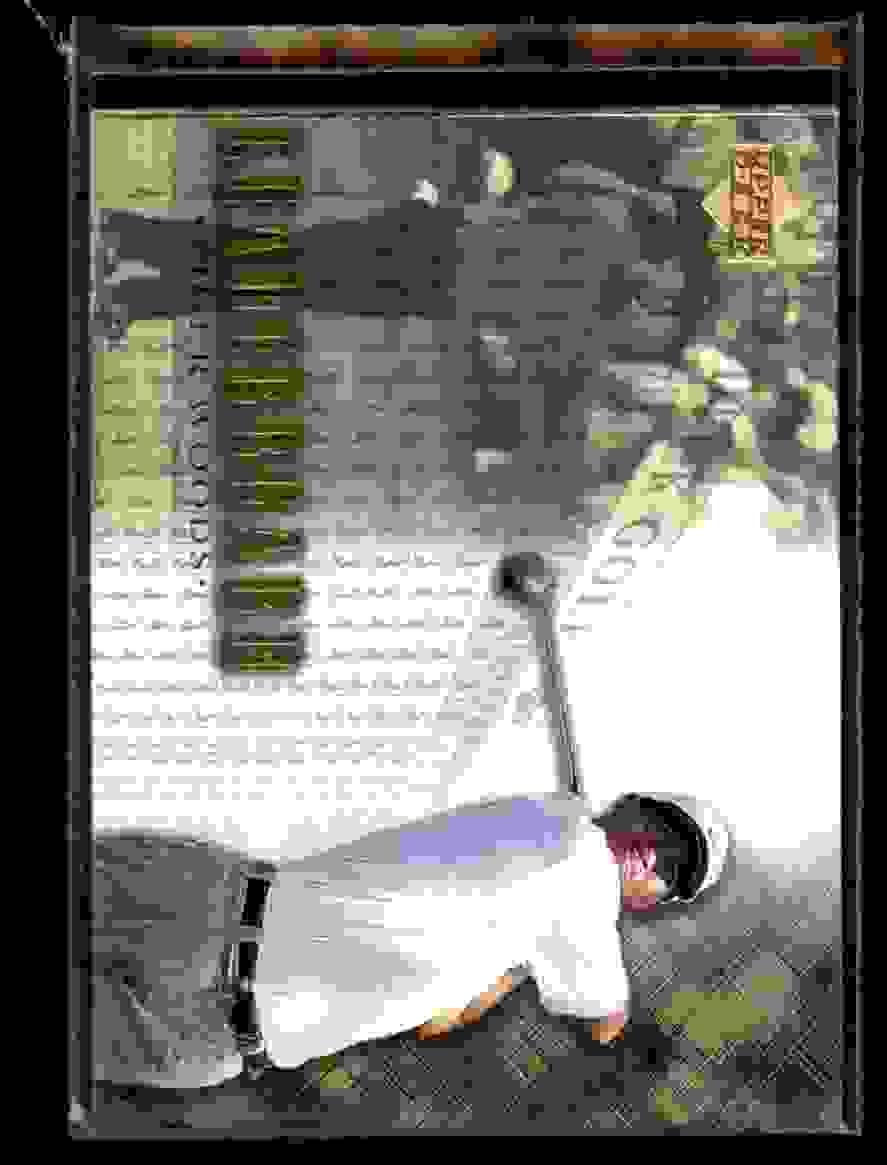 2001 Upper Deck Tiger Woods Lb #90 card front image