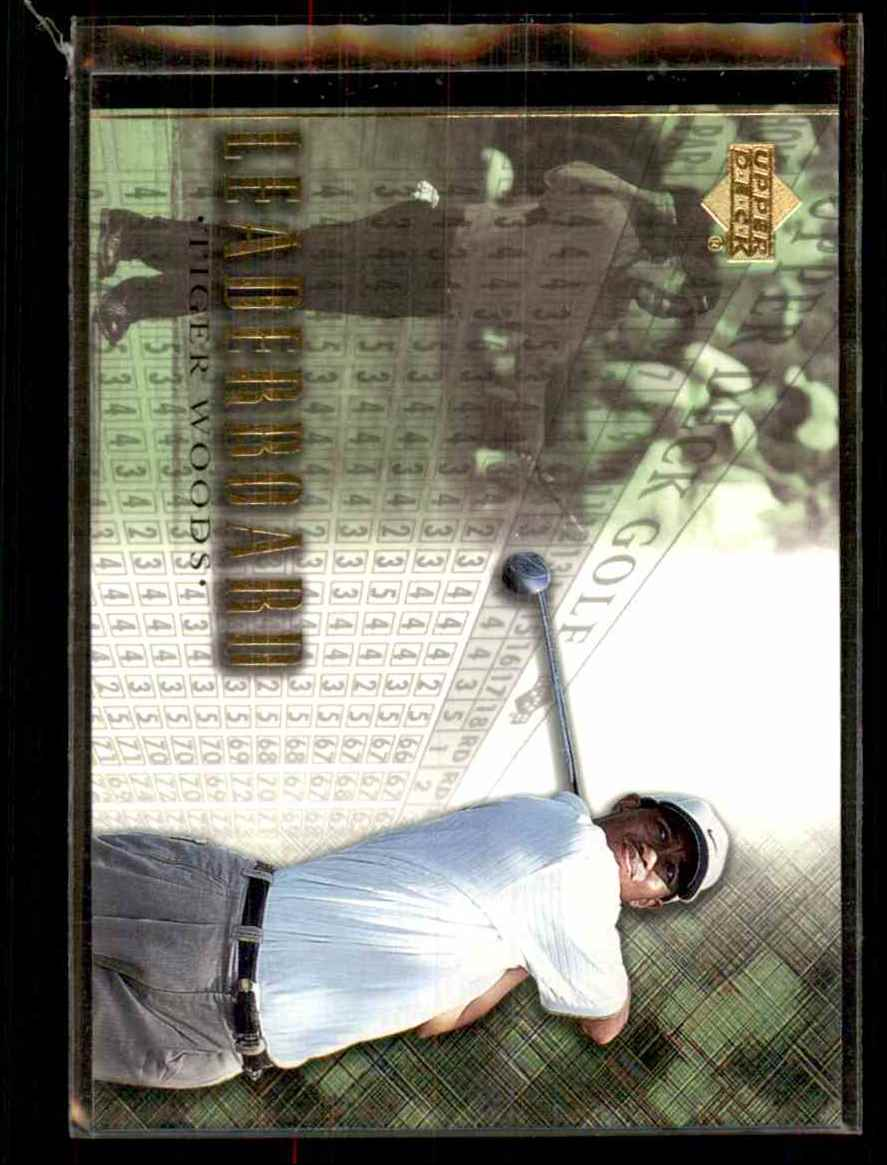 2001 Upper Deck Tiger Woods Lb #90 card front image