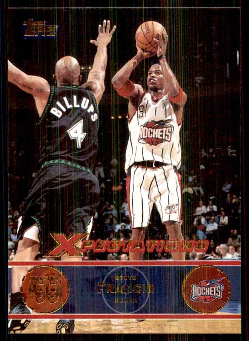 2001-02 Topps Xpectations Steve Francis #69 card front image