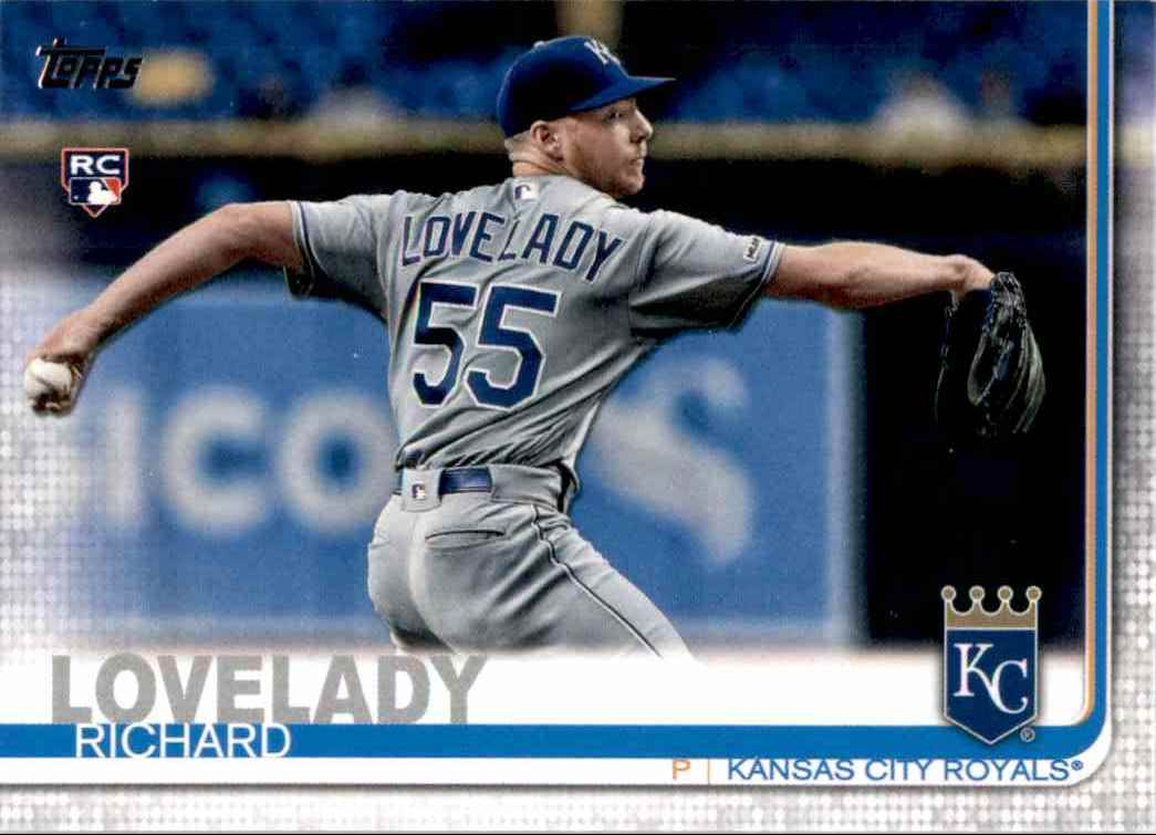 2019 Topps Update Richard Lovelady #US213 card front image