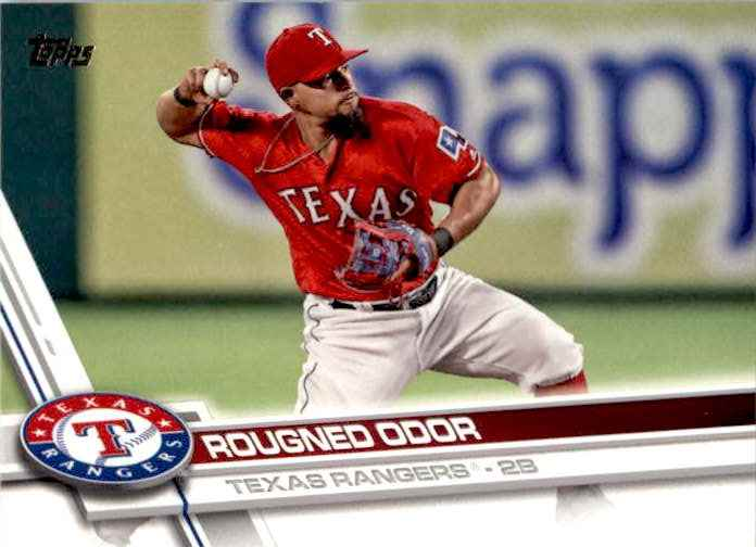 2017 Topps Series 2 Rougned Odor #666 card front image