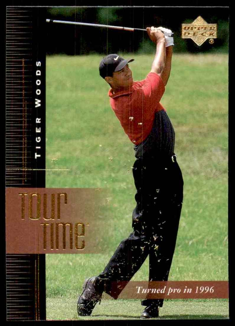 2001 Upper Deck Tiger Woods Tt #176 card front image