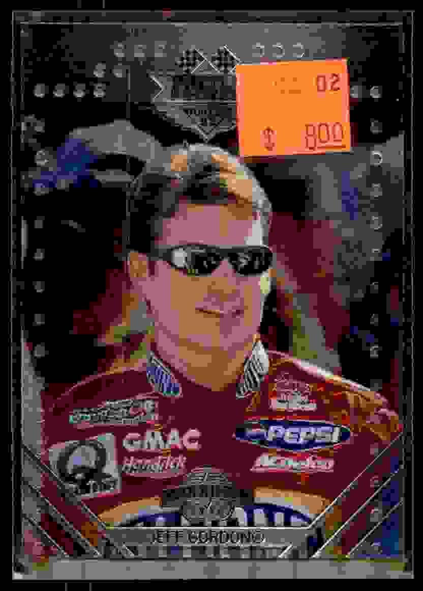 1998 Upper Deck Maxximum Battle Proven Jeff Gordon #B5 card front image