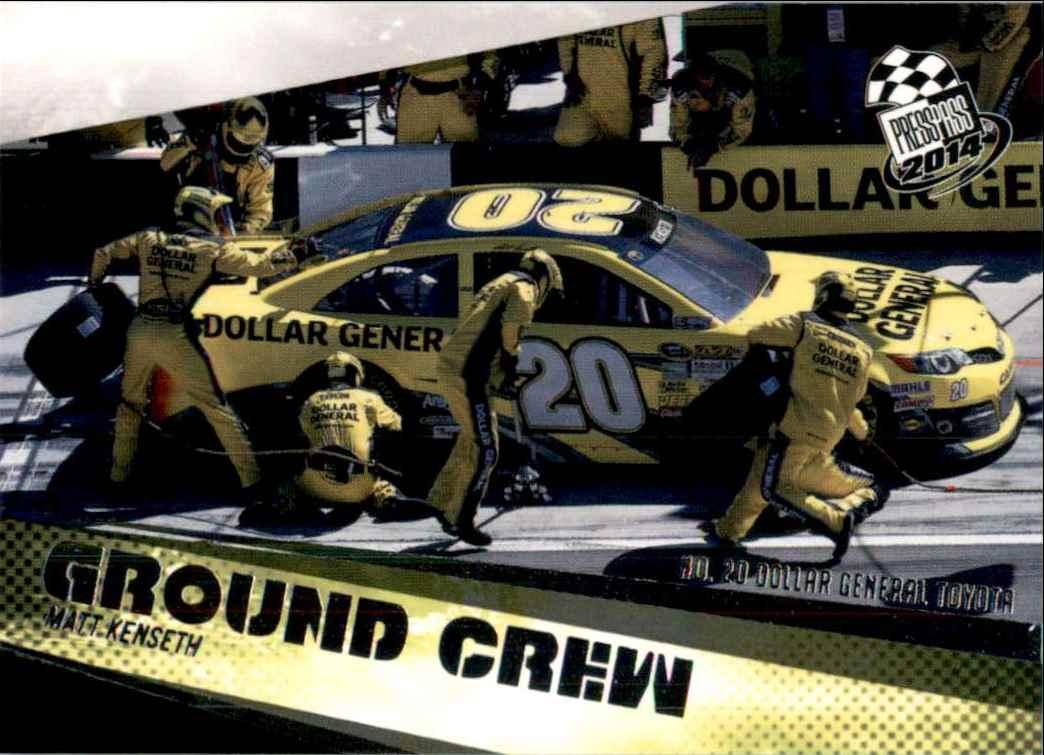 2014 Press Pass Matt Kenseth's Car Gc #66 card front image