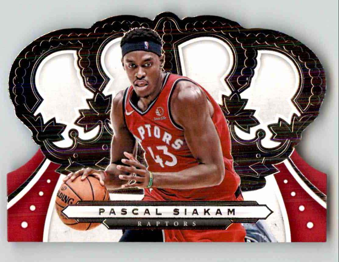 2019-20 Crown Royale Pascal Siakam #74 card front image