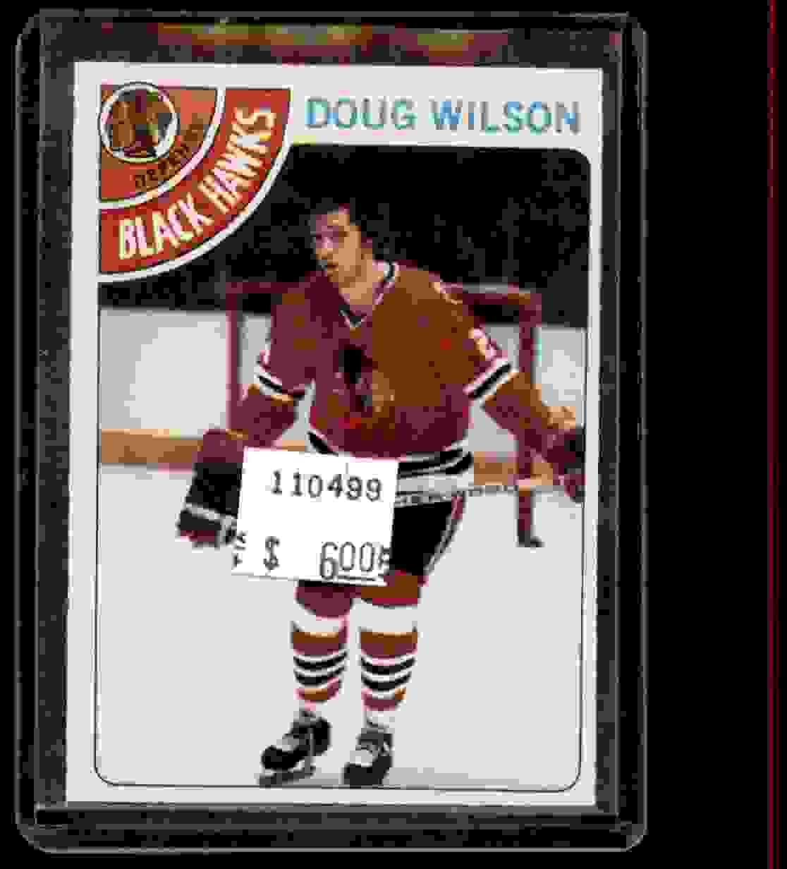 1978-79 Topps Doug Wilson #168 card front image