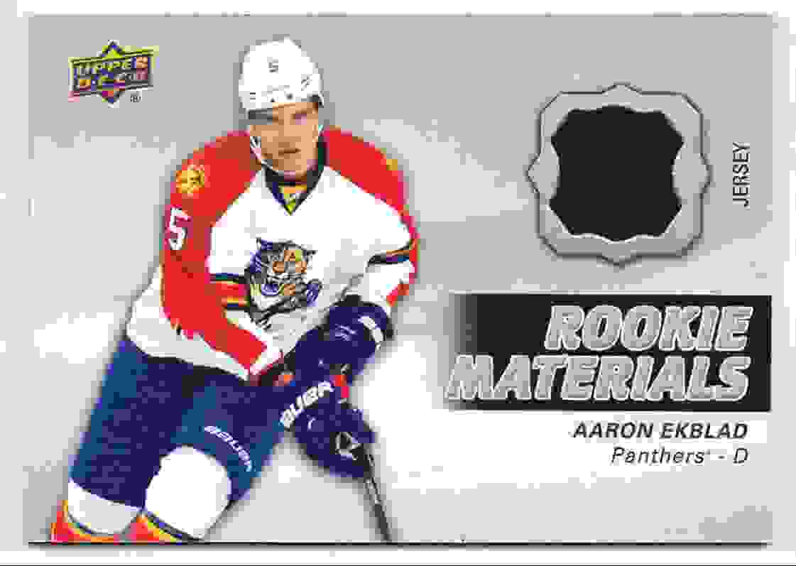 2014-15 Upper Deck Series Two Aaron Ekblad #RM4 card front image